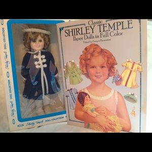Shirley Temple Doll by Ideal & Vintage Paper Dolls